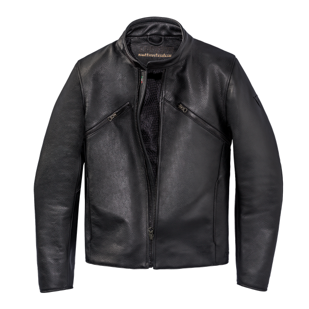 PRIMA72 LEATHER JACKET BLACK- Dainese72