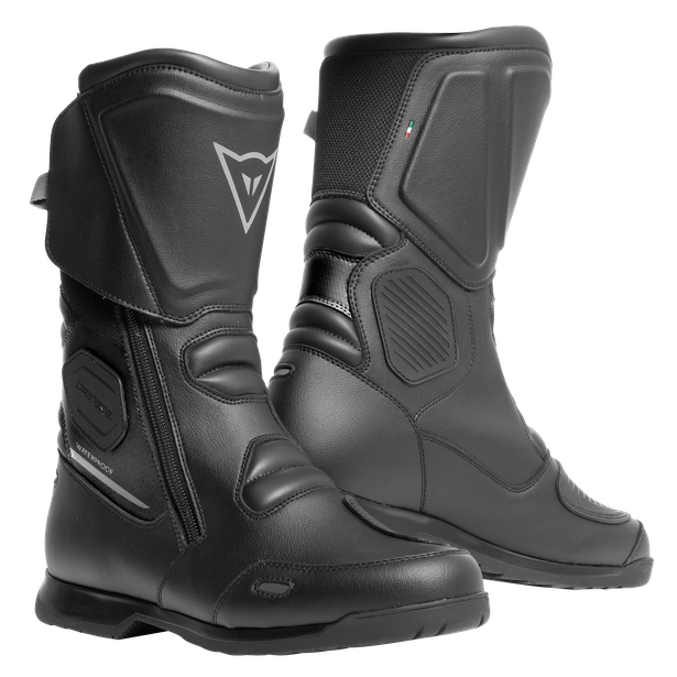 X-TOURER D-WP BOOTS BLACK/ANTHRACITE- Impermeables
