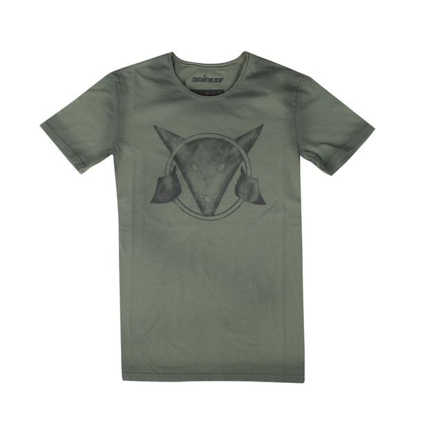 SCRAWL T-SHIRT ARMY-GREEN