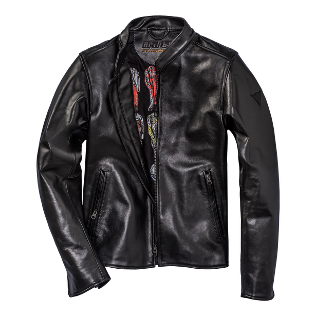 NERA72 LEATHER JACKET BLACK- Dainese72