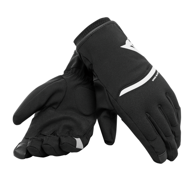 PLAZA 2 D-DRY GLOVES BLACK/WHITE