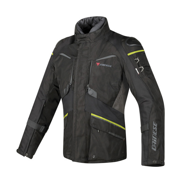 RIDDER D1 GORE-TEX® JACKET BLACK/EBONY/FLUO-YELLOW