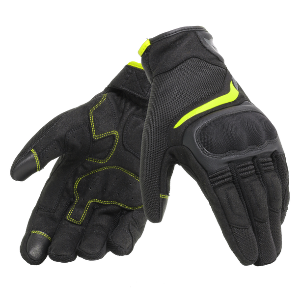 AIR MASTER GLOVES BLACK/FLUO-YELLOW