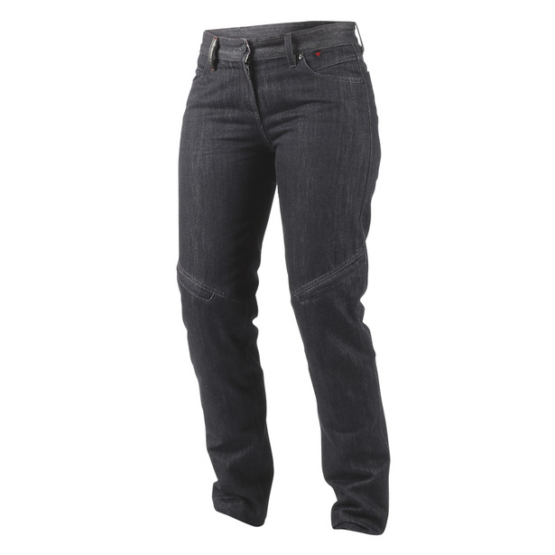 QUEENSVILLE REG. LADY JEANS BLACK-ARAMID-DENIM- Pants