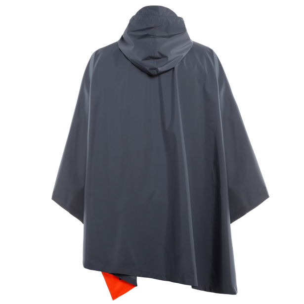 AWA BLACK - PONCHO OMBRE-BLUE- Jacken
