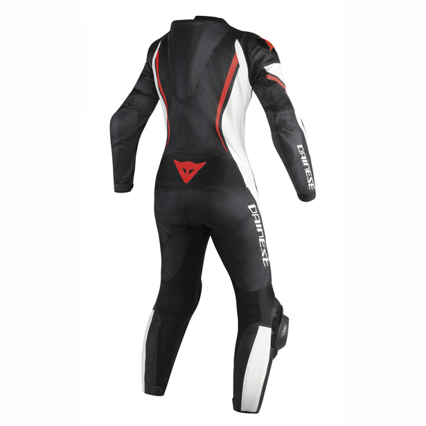 ASSEN 1 PC. PERF. LADY BLACK/WHITE/RED-FLUO- One Piece Suits