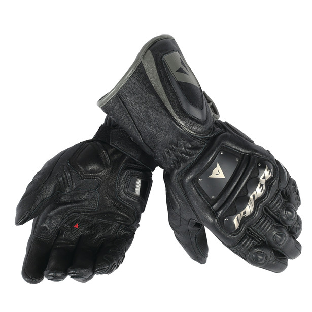4 STROKE LONG GLOVES BLACK/BLACK/BLACK