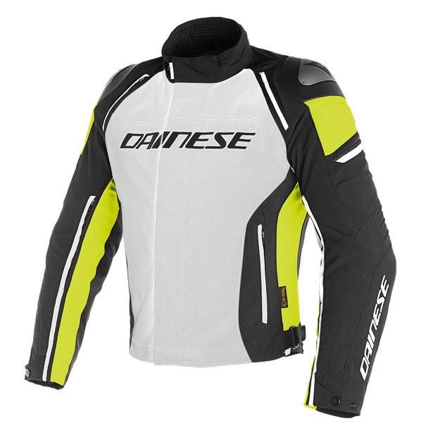 RACING 3 D-DRY JACKET GLACIER-GRAY/BLACK/FLUO-YELLOW- D-Dry®
