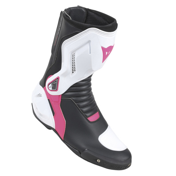 NEXUS LADY BOOTS BLACK/WHITE/FUCHSIA- Leather