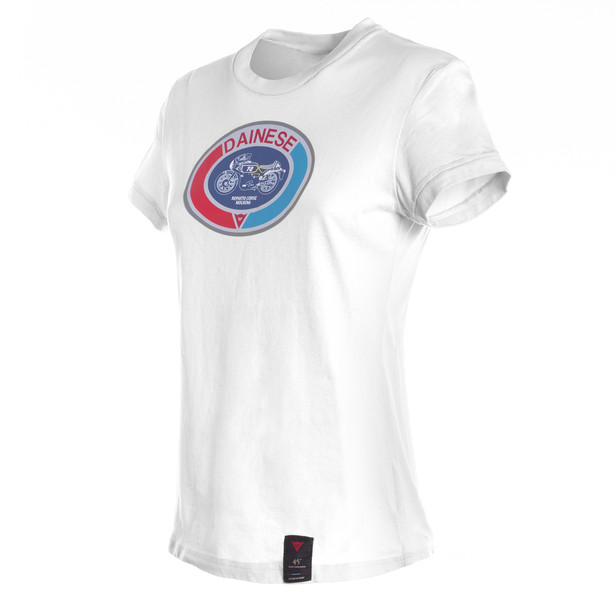 MOTO72 LADY T-SHIRT WHITE- T-Shirts