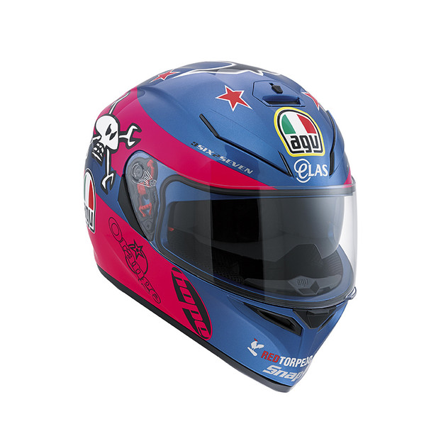K-3 SV E2205 REPLICA - GUY MARTIN PINK/BLUE