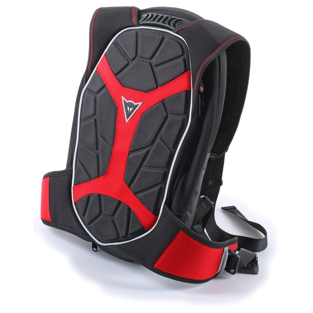 D-EXCHANGE BACKPACK S BLACK/BLACK/RED