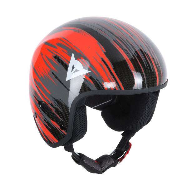 GT CARBON WC HELMET CARBON/FLUO-RED- Casques