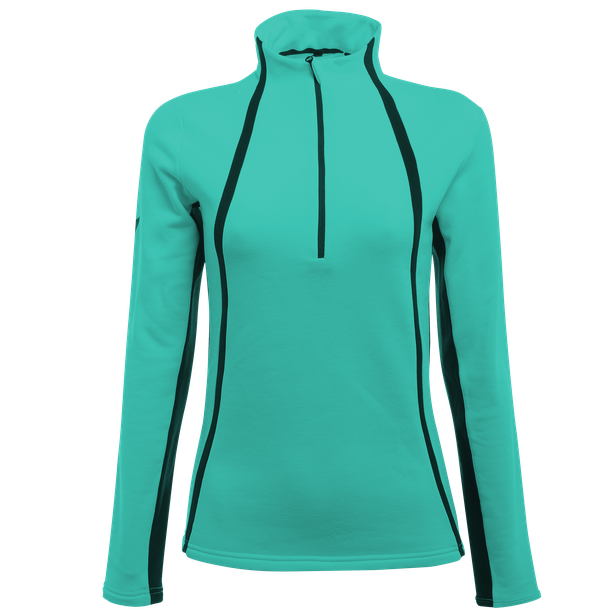HP2 HALF ZIP LADY WATERFALL/STRETCH-LIMO- Thermal Layers