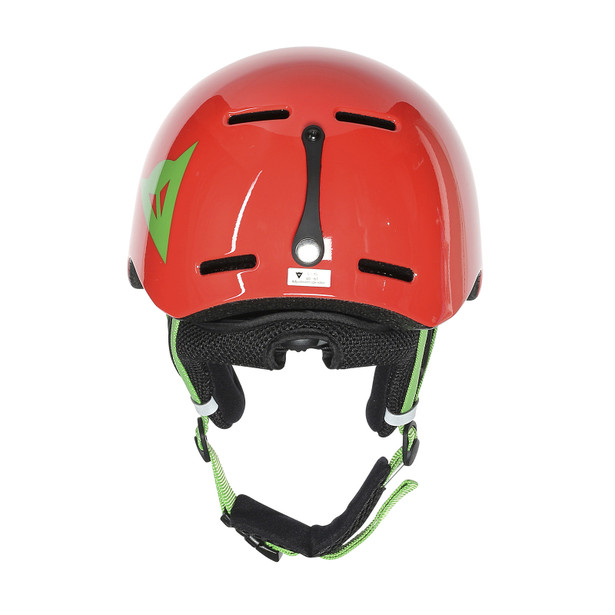 B-ROCKS HELMET LIGHT-RED/EDEN-GREEN