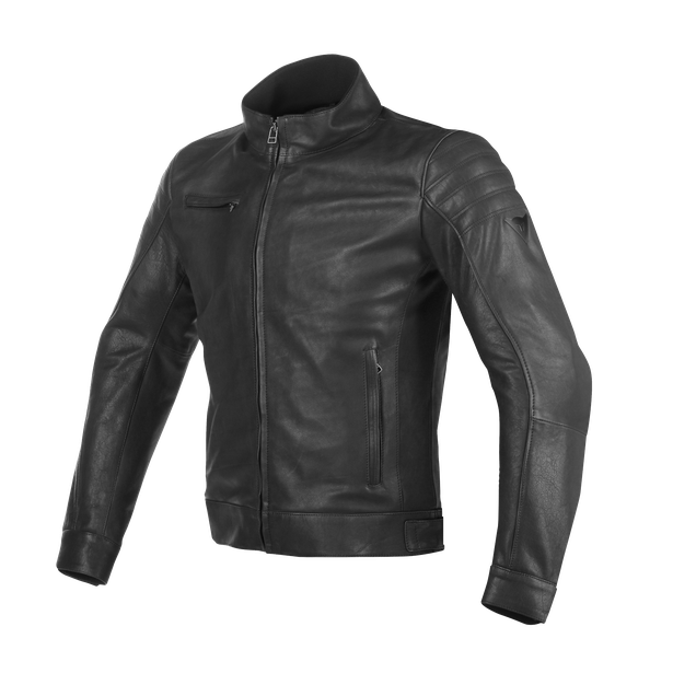 BRYAN LEATHER JACKET BLACK