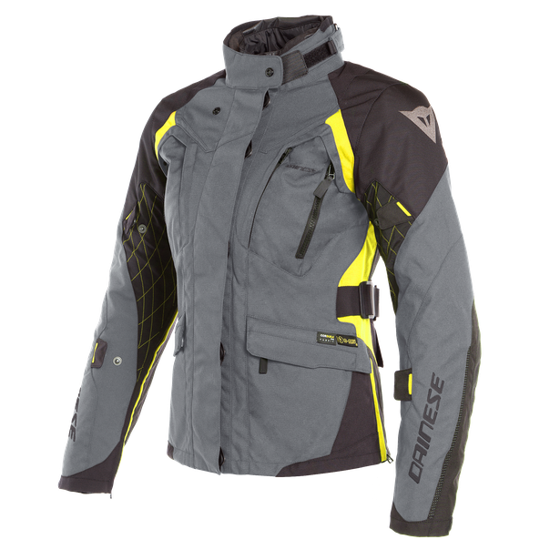X-TOURER D-DRY LADY JACKET EBONY/BLACK/FLUO-YELLOW- D-Dry®