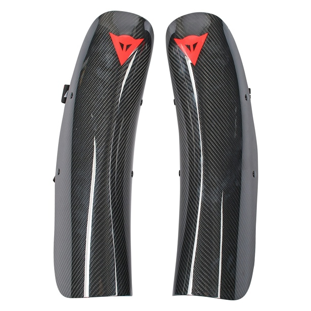 WC CARBON SHIN GUARD NEUTRO- Genoux