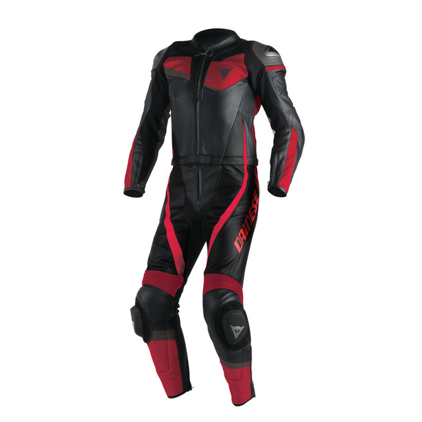 VELOSTER 2 PIECE SUIT BLACK/RED/RED