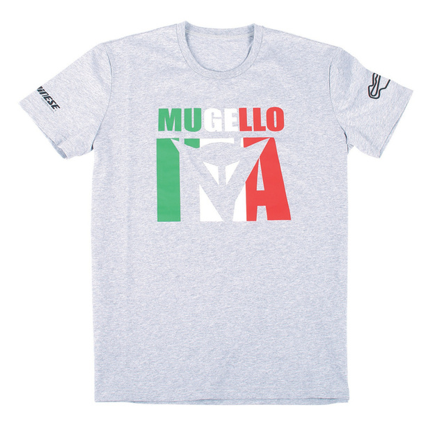 MUGELLO D1 T-SHIRT MELANGE-GRAY- T-Shirts