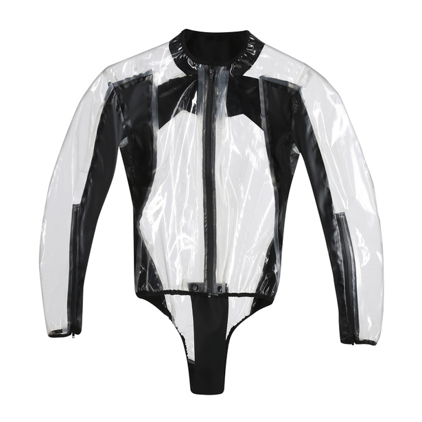 RAIN BODY RACING D1 TRANSPARENT/BLACK- Pour La Pluie