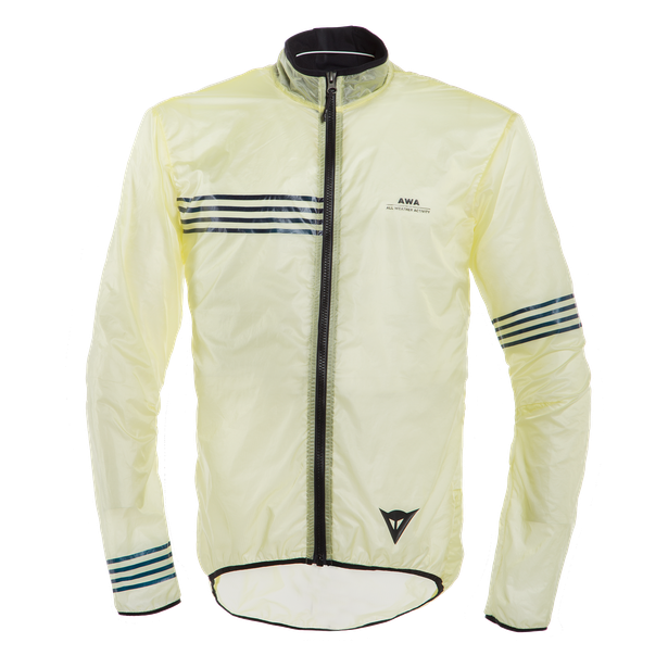 AWA WIND JACKET TENDER-YELLOW/BLACK-IRIS- Jacken